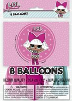 "LOL Surprise 12"" Latex Balloons (8)"